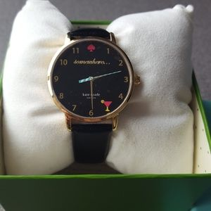 Kate Spade Metro Somewhere Watch Leather Band